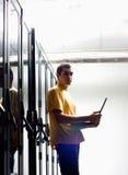 inżyniera wyposażenia przód siedzi Fotografia Stock