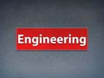 Inżynieria sztandaru abstrakta Czerwony tło ilustracji