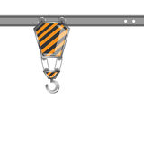 Inżynieria tropiciela żurawie Zdjęcie Royalty Free