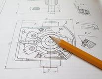 Inżynierii pojęcie obrazy stock