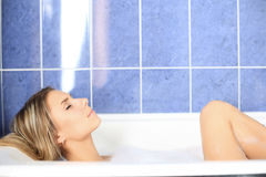 In A Bath Royalty Free Stock Photography