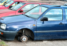 Free In A Scrap Yard Royalty Free Stock Images - 39825169