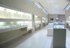 In Jewelry Store Royalty Free Stock Images