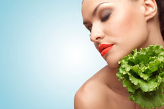 In Love With Greens. Royalty Free Stock Image