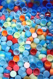 In Many Colors Bottle Caps. Stock Photography