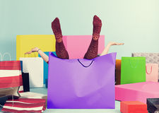 Free In The Bag Royalty Free Stock Images - 48682639
