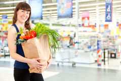 In The Supermarket Stock Images