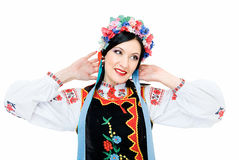 In Ukrainian Style Royalty Free Stock Photography