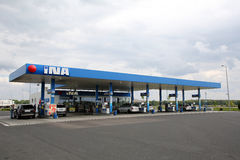 INA GAS STATION Royalty Free Stock Photo