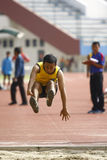 Inabilità dell'atleta Fotografia Stock