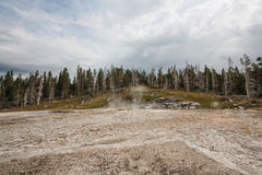 Inactive Grand Geyser Stock Images
