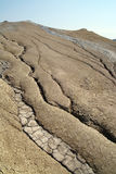 Inactive mud volcano Royalty Free Stock Photo