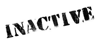 Inactive rubber stamp Stock Image