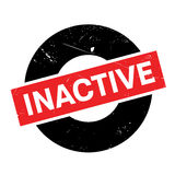 Inactive rubber stamp Stock Photo