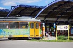 Inactive tram Stock Photos