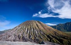 Inactive Volcano. Taken in Tengger Caldera, East Java Indonesia royalty free stock photo