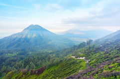 An inactive volcano Stock Image