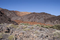 Inactive Volcano (Tenerife, Canaries, Spain) Royalty Free Stock Images