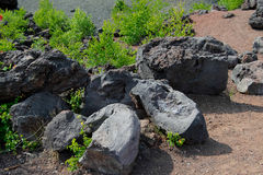 Inactive volcano Royalty Free Stock Photos