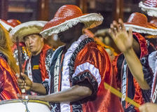 Inagural Parade of Carnival in Montevideo Uruguay Stock Photos
