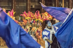 Inagural Parade of Carnival in Montevideo Uruguay Royalty Free Stock Photography