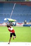 inaktiverade kvinnor för kast för javelinpersoner s arkivbilder