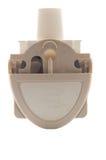 Inalatore alto chiuso di asma della polvere Fotografia Stock