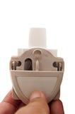Inalatore di asma della polvere a disposizione Fotografie Stock