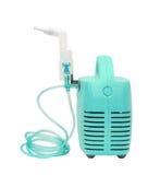 Inalatore medico del compressore, nebulizzatore Fotografie Stock Libere da Diritti