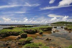 inarajan λίμνη του Γκουάμ Στοκ εικόνες με δικαίωμα ελεύθερης χρήσης
