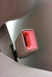 Inarcamento della cintura di sicurezza. Immagini Stock