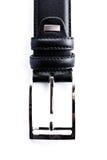 Inarcamento della fascia di cuoio nera Fotografia Stock