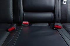 Inarcamento di sicurezza in un'automobile Fotografie Stock Libere da Diritti