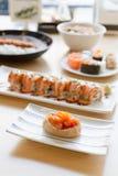 Inari寿司或甜豆腐袋子 免版税库存照片