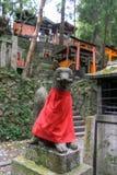 Inari okami. Statue in fushimi inari in kyoto Stock Images