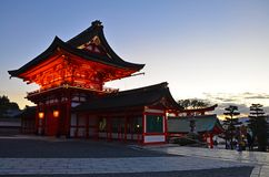 Inari Shrine of Kyoto Stock Photography