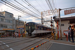 Inari station, Kyoto, Japan Royaltyfri Bild