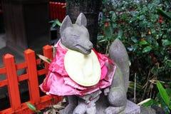 Inari statue Stock Image