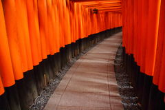 Inari-Taisha Fushimi Στοκ Εικόνες