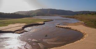Inaridire fiume Fotografia Stock Libera da Diritti