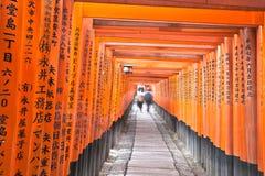 inaritaisha för fushimi 2 Arkivfoton