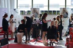 A inauguração do centro da forma de matéria têxtil na Suécia BorÃ¥s 2014 Imagens de Stock Royalty Free