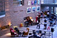A inauguração do centro da forma de matéria têxtil na Suécia BorÃ¥s 2014 Imagem de Stock Royalty Free