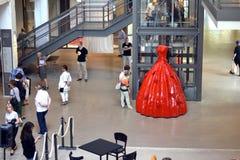A inauguração do centro da forma de matéria têxtil na Suécia BorÃ¥s 2014 Foto de Stock Royalty Free