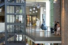 A inauguração do centro da forma de matéria têxtil na Suécia BorÃ¥s 2014 Fotografia de Stock Royalty Free
