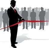 Inauguração do homem de negócios Imagens de Stock Royalty Free