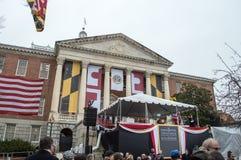 A inauguração do regulador de Maryland - 21 de janeiro de 2015 Fotos de Stock