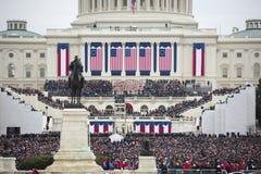 Inauguración presidencial de Donald Trump Fotos de archivo libres de regalías