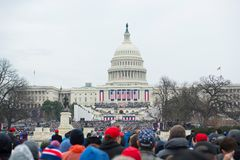Inauguración presidencial de Donald Trump Foto de archivo