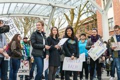 Inauguracja strajk przy Oregon stanu uniwersytetem Zdjęcia Stock